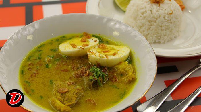 Resep Soto Madura Ikuti Video Masak Cara Membuat Soto Daging Babat Madura Nya Langkah Demi Langkah Ya Pertama Siapkan Bahan Amp Resep Resep Masakan Masakan