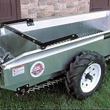 An endgate is standard equipment on all Millcreek SS spreaders. It helps keep the load in while driving to the field, and protects you from flying muck when the spreader is operating.