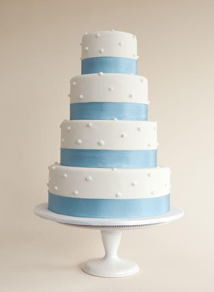 'Love Me Tender'- a Simply Elegant Wedding Cake Design | Sweet Thea
