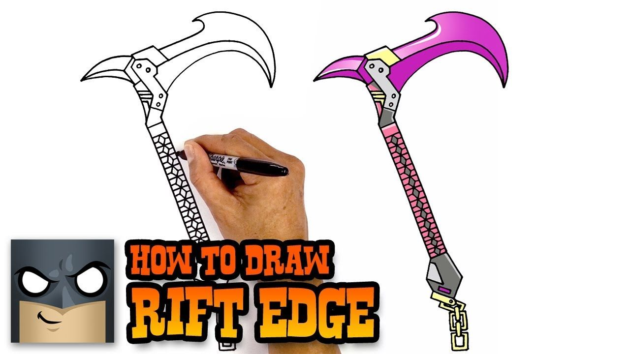 How To Draw Rift Edge Fortnite Awesome Step By Step Tutorial