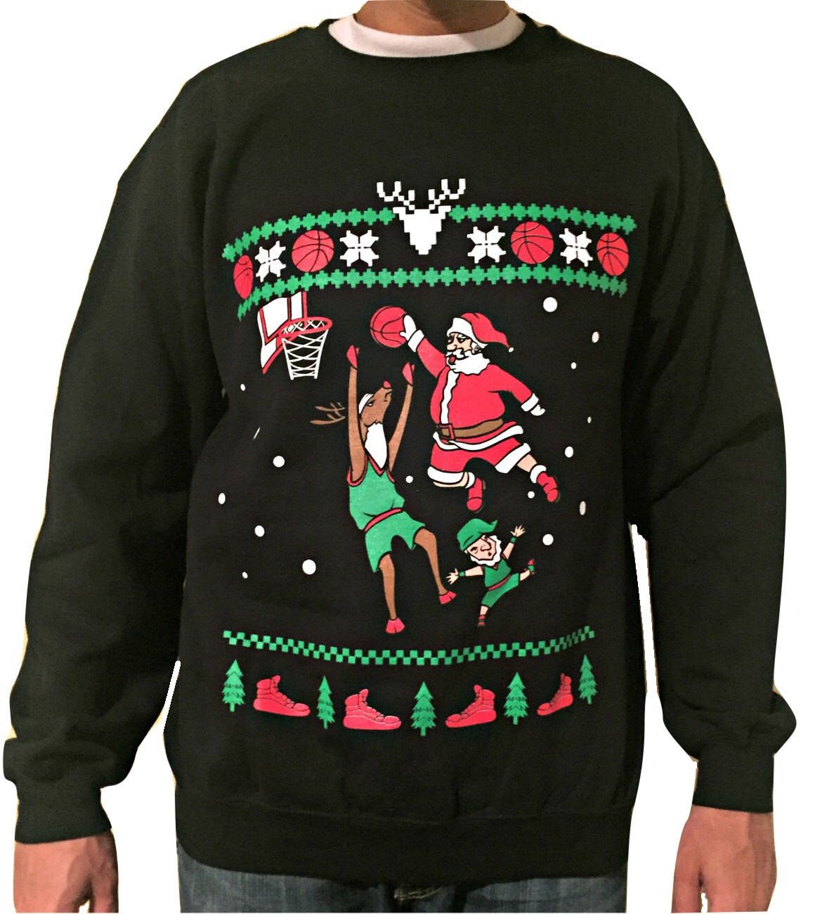 Dr Seuss Herren Ugly Christmas Sweater Pullover