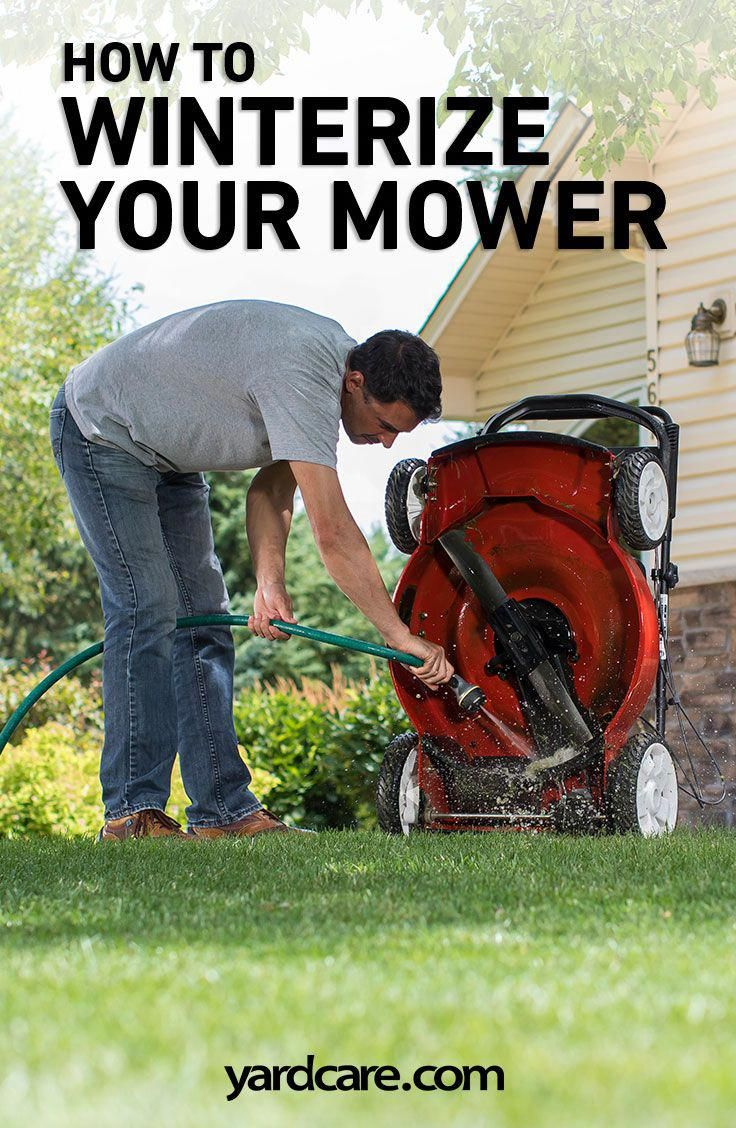 As mowing season winds down and you think about winter