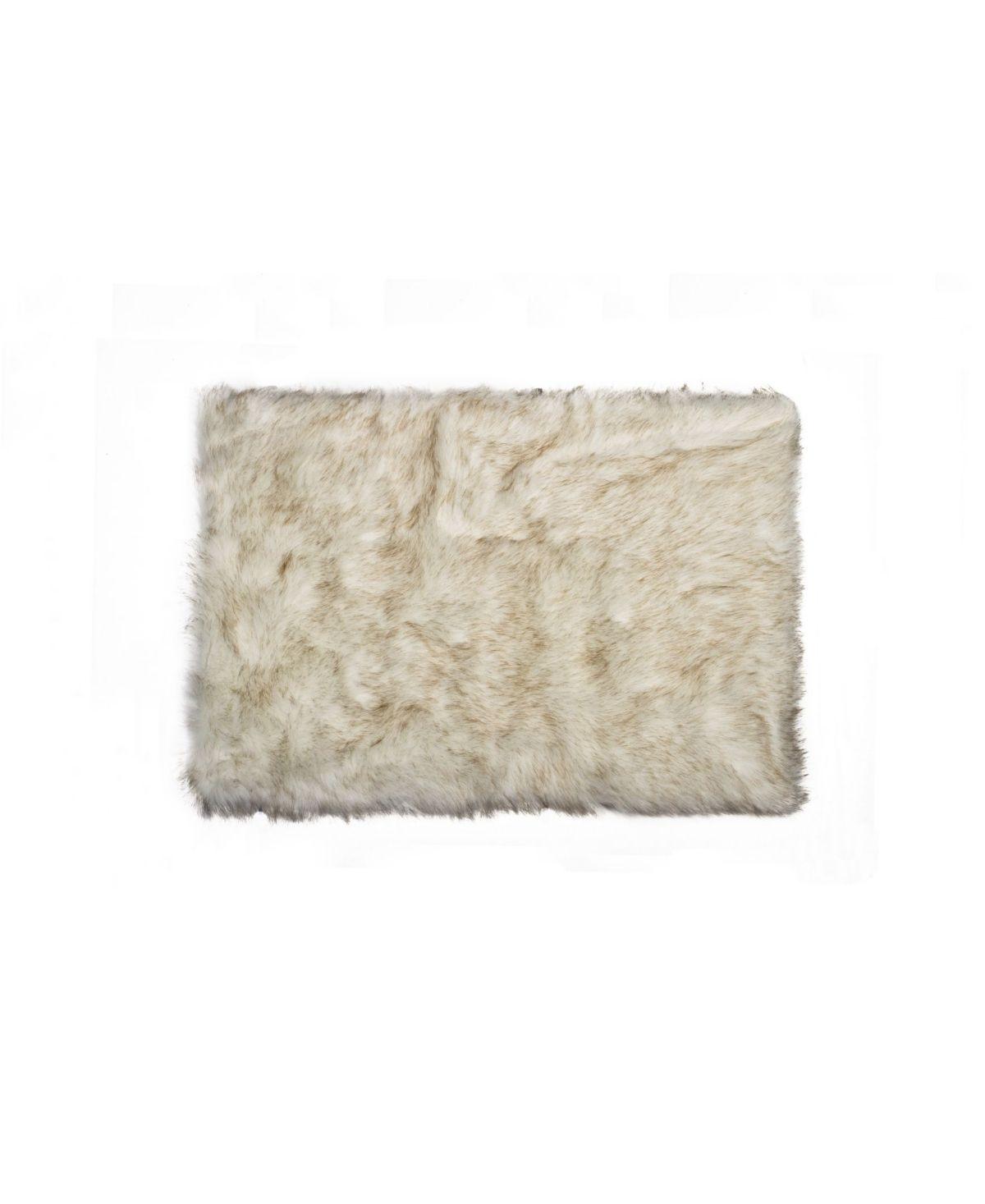 Luxe Faux Fur Hudson Rug 2 X 3 Grad Tan Faux Sheepskin Rug Small Bath Rugs Rugs [ 1467 x 1200 Pixel ]