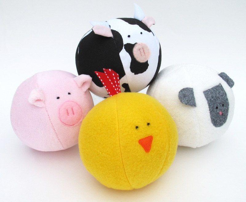 Barnyard Ball - PDF sewing pattern - free shipping   (◡‿◡) Baby ...