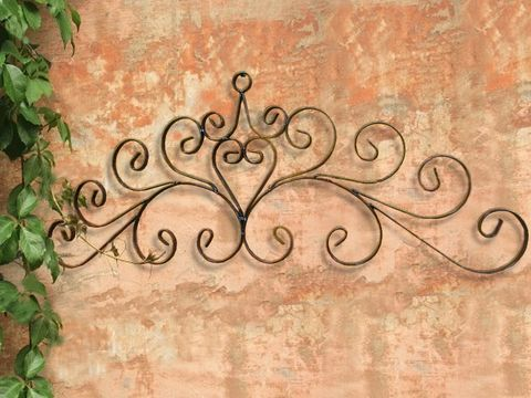 Metal Door Toppers, Iron Door Wall Toppers, Tuscan Door Toppers ...