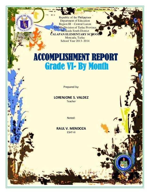 Republic Of The Philippines Department Of Education Region Iii