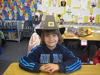 boy and girl pilgrim hat instructions