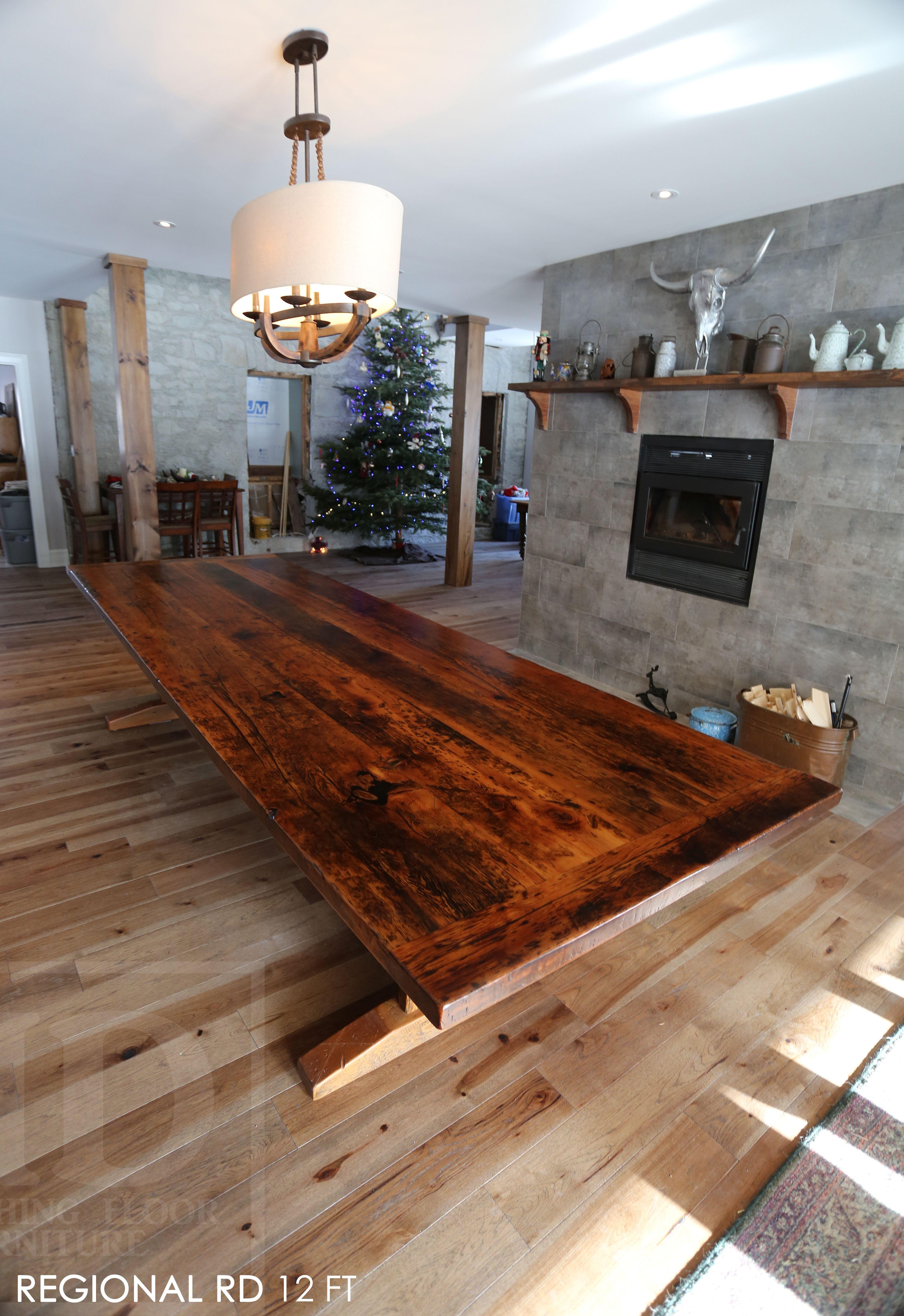 Reclaimed Wood Boardroom Table By HD Threshing Floor Furniture Of - Wooden boardroom table