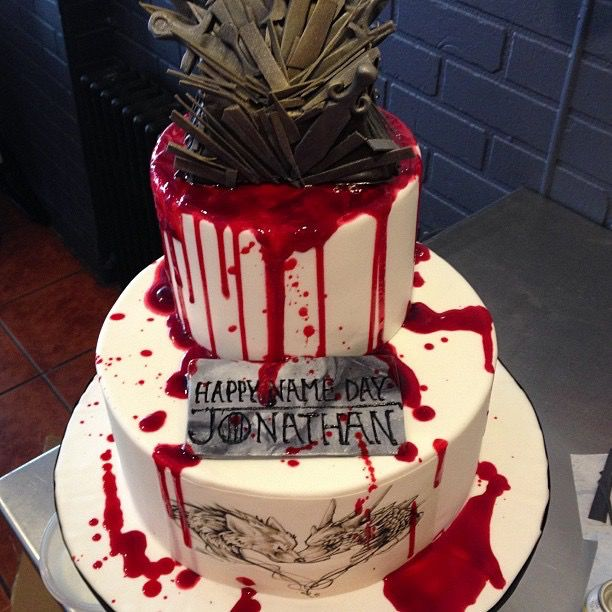 Pin by Lavalampchillwaves on Game Of Thrones Birthday Cake Ideas