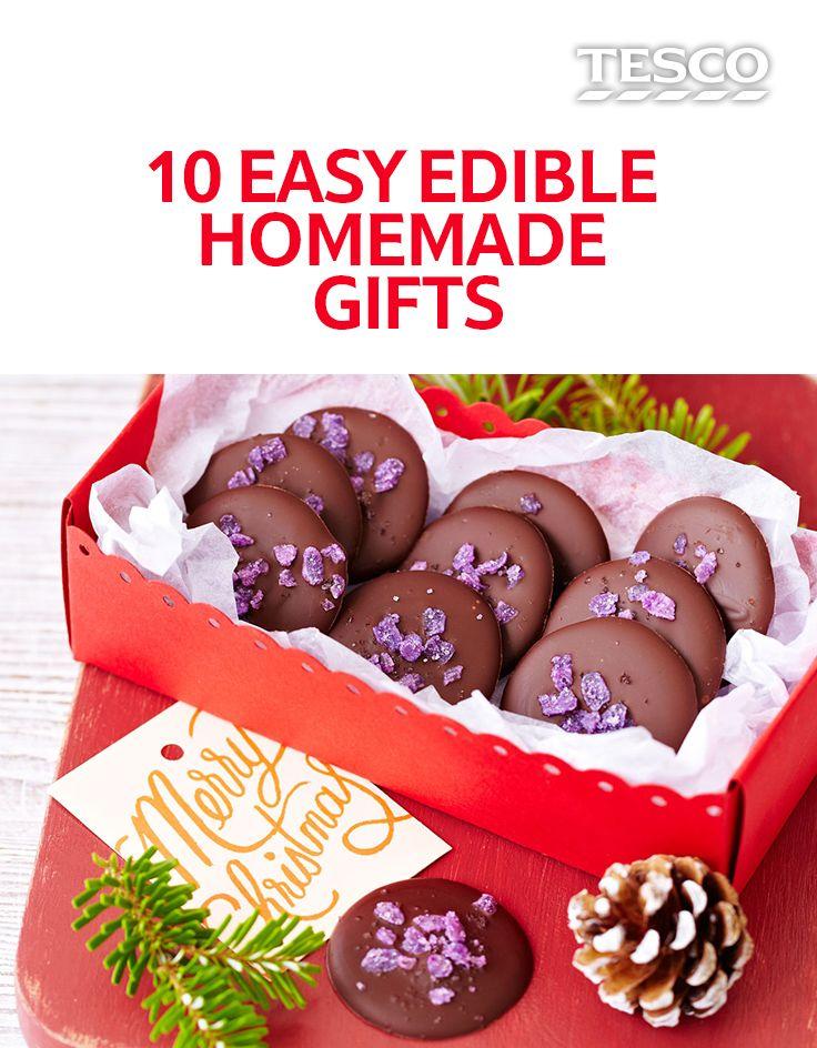 10 easy edible Christmas gifts Xmas, Edible christmas gifts and Gift