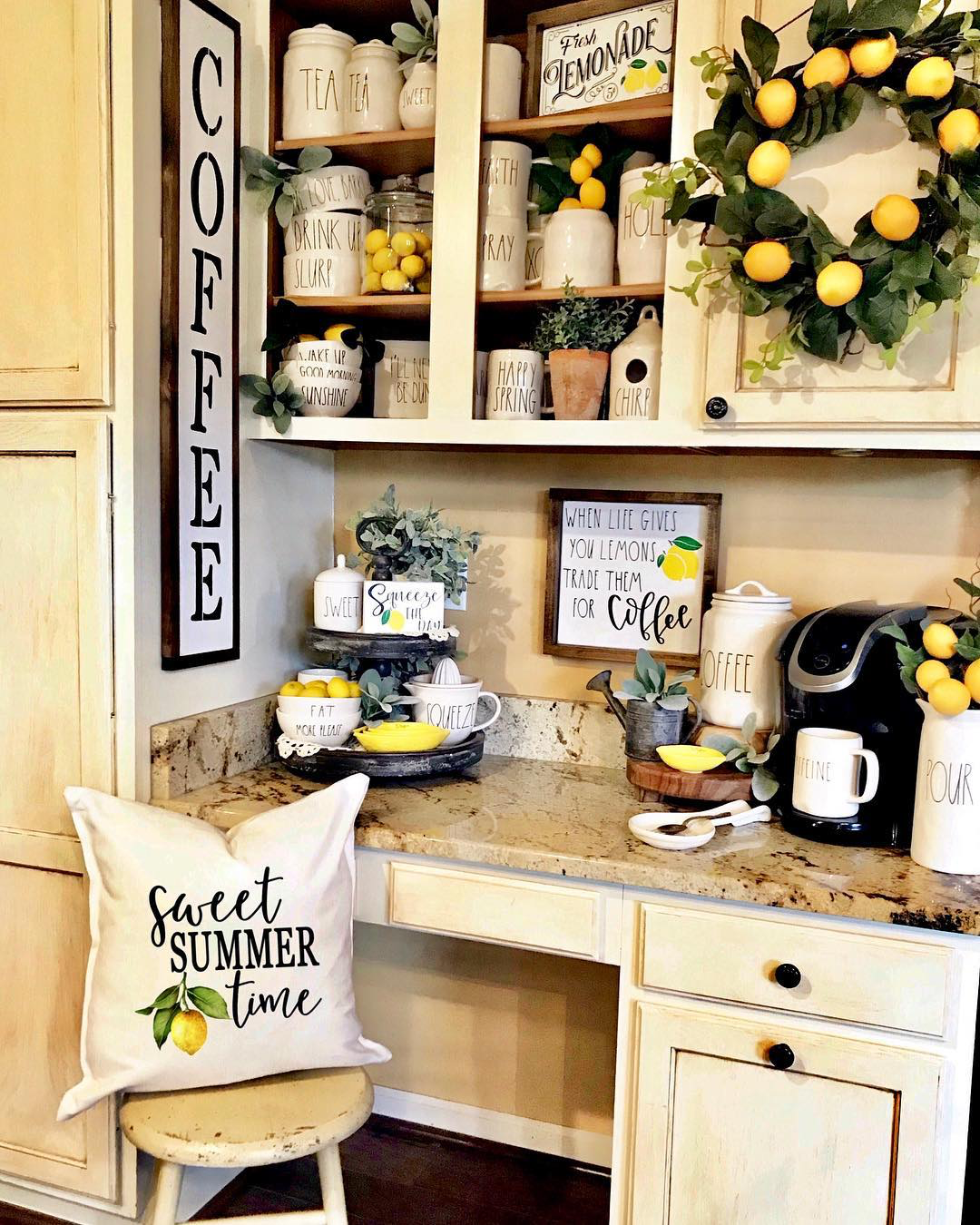Home Coffee Bar Design Ideas: You'll Love These Coffee Bar Ideas For The Home 2020