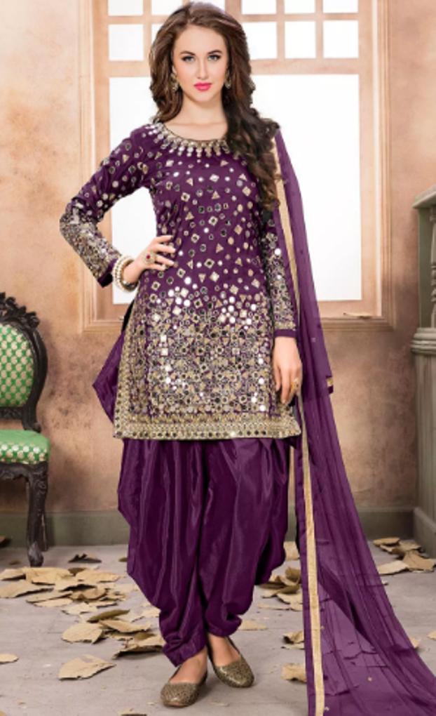 a53874f43 New Punjabi Salwar Suit Designs 2018
