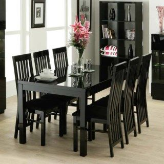 Http Furniture123 Co Uk Dazzle High Gloss Black Rectangular 4