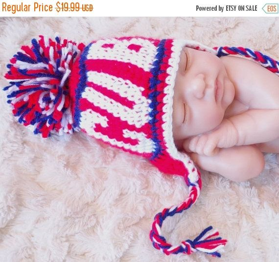 FLASH SALE Chicago Cubs Winter Baby Hat