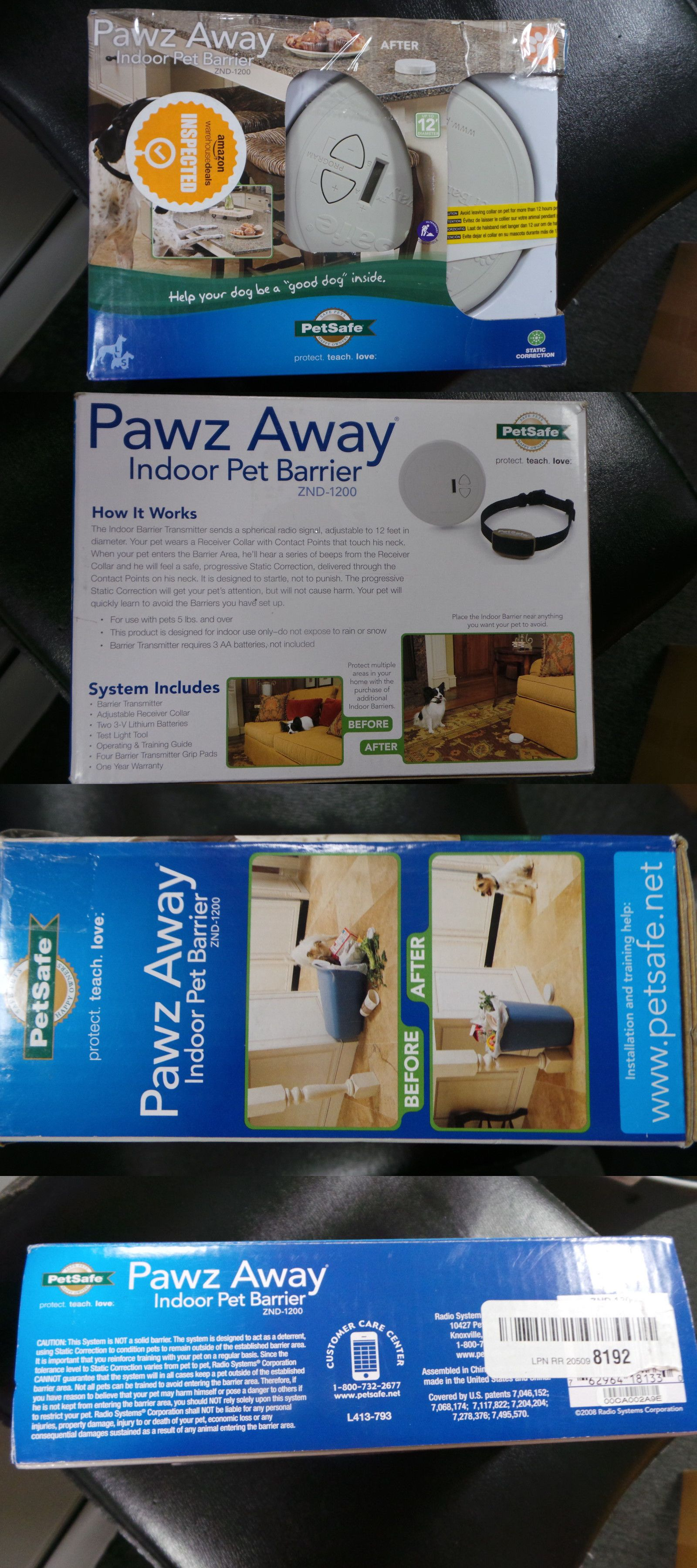 Other Dog Training And Obedience 146245: Pawz Away Indoor Pet Barrier W 1  Zone Znd