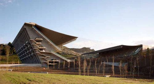 Architect Eduardo Souto Moura. Project Braga Stadium. Location Braga, Portugal. Date 2000-2003