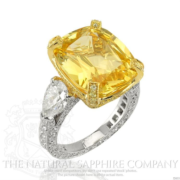 17 02ct Yellow Sapphire Ring J2633 Yellow Sapphire Rings Yellow Diamond Rings Yellow Jewelry