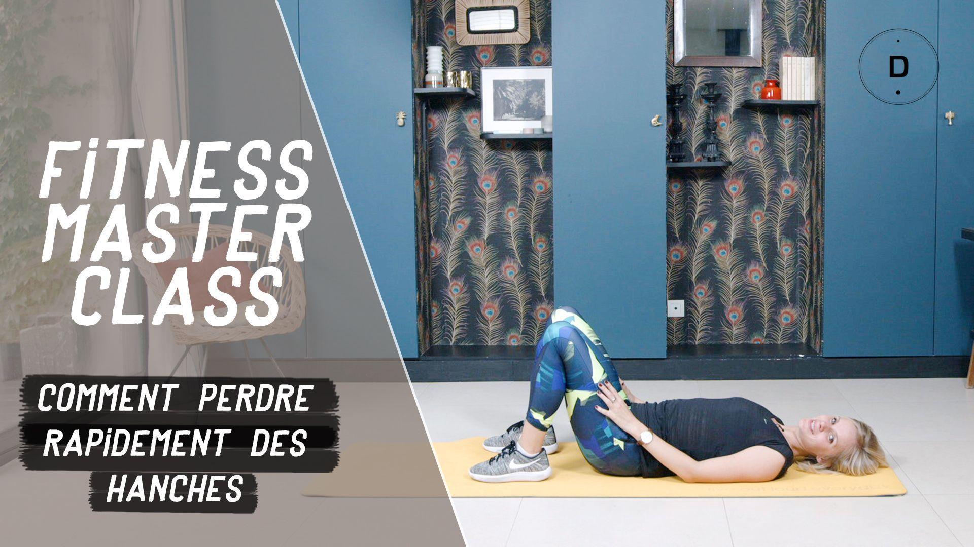 Comment perdre rapidement des hanches? (20 min) - Fitness ...