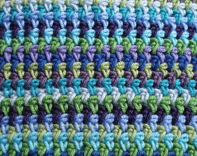 free woven look crochet pattern