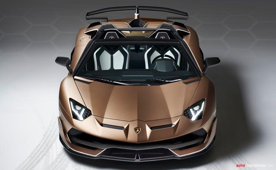 Lamborghini Aventador SVJ Roadster Unveiled