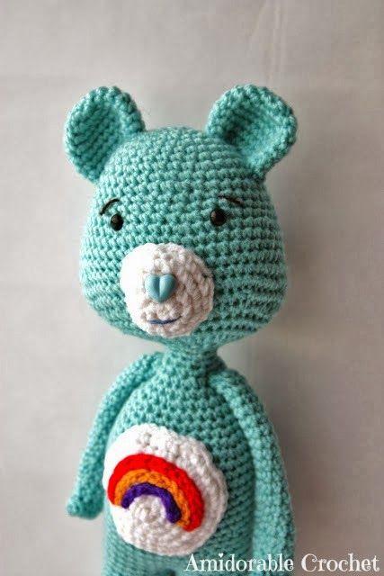 A [mi] Crochet dorable: Patrón Oso Care