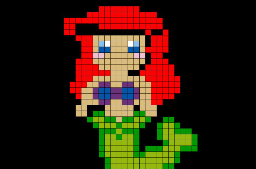 Résultat De Recherche Dimages Pour Pixel Princesse Facile