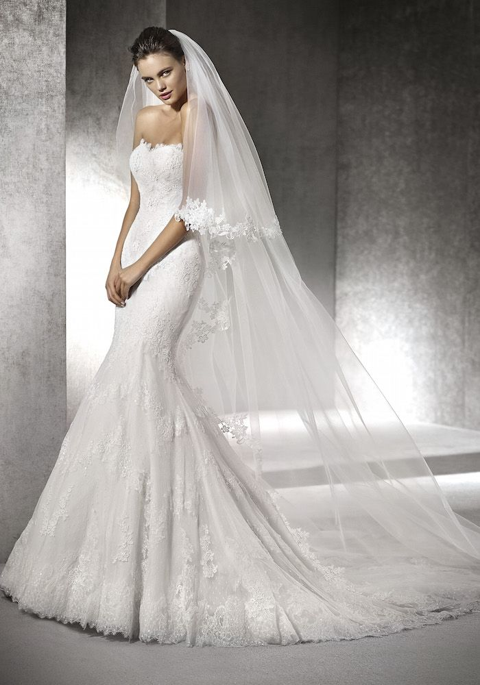 San Patrick 2016 Collection   Lace Wedding Dress with Classic Embroidery - Hong Kong   LMR Weddings