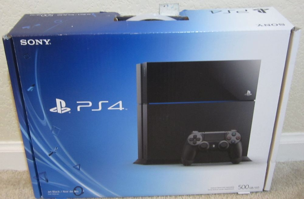 Sony PS4 PlayStation 4 Replacement **Empty Console Box ...