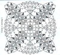 """Gallery.ru / Alleta - Альбом """"Квадратные мотивы с """"колосками"""""""""""