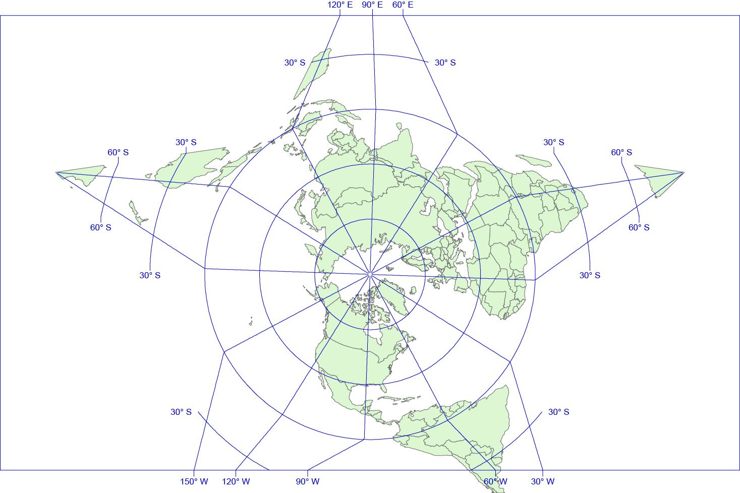 Star projection of world mapping world vector printable map star projection of world mapping world vector printable map gumiabroncs Gallery