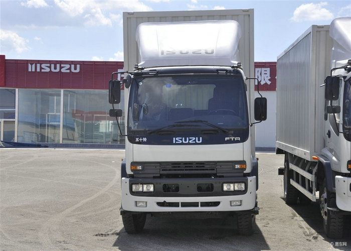 Isuzu Ftr Cargo Van Truck Cargo Van Trucks Cargo