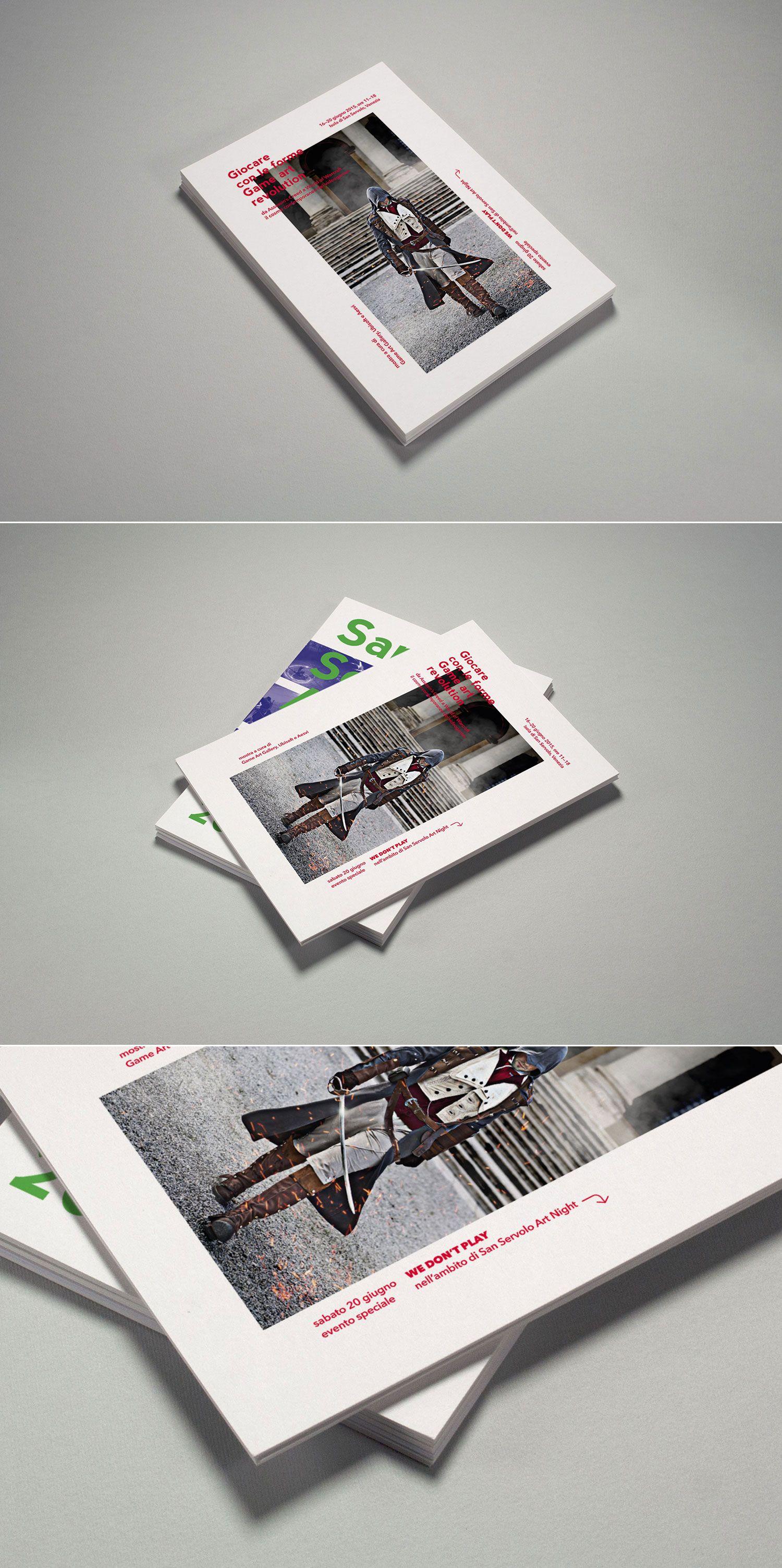 Game Art Revolution, flyer —hstudio