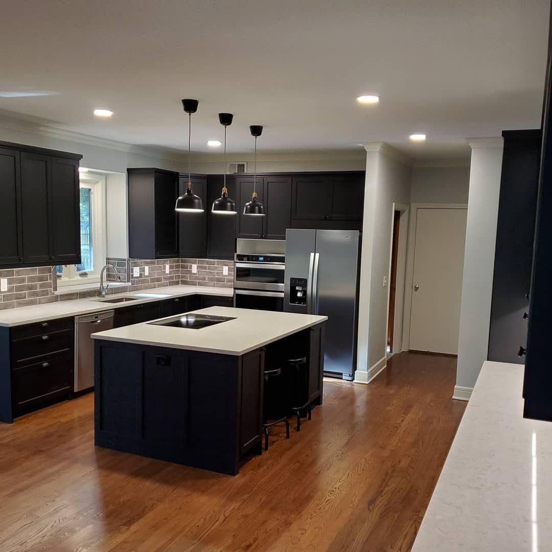 "Pro Kitchen Builders on Instagram: ""Swipe for before ..."