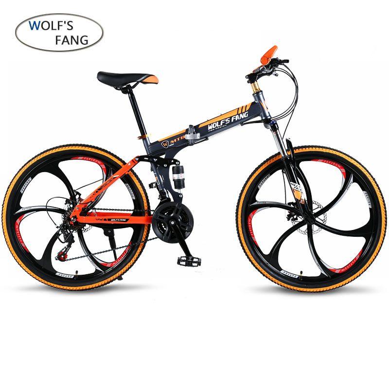 Youma Mountain Bike Folding Bike 7 21 Speed 26 Inch Front And Rear