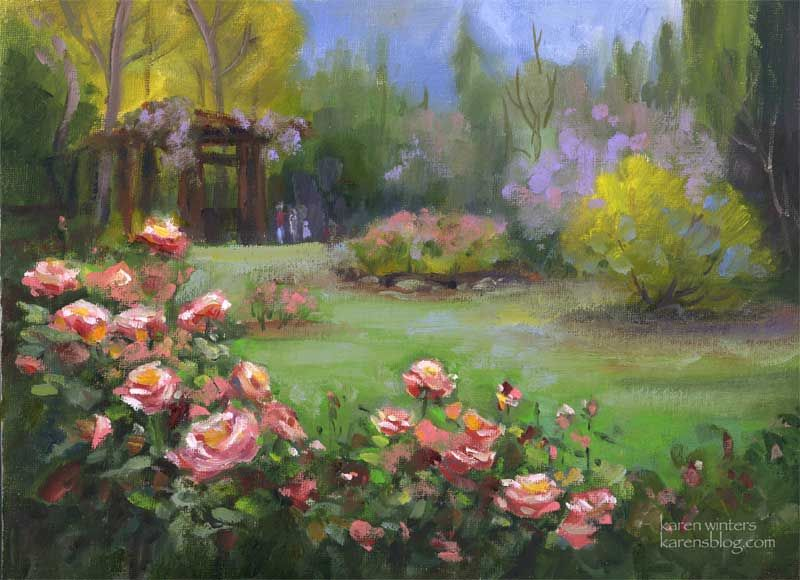 17 Best 1000 images about Garden Paintings on Pinterest Gardens