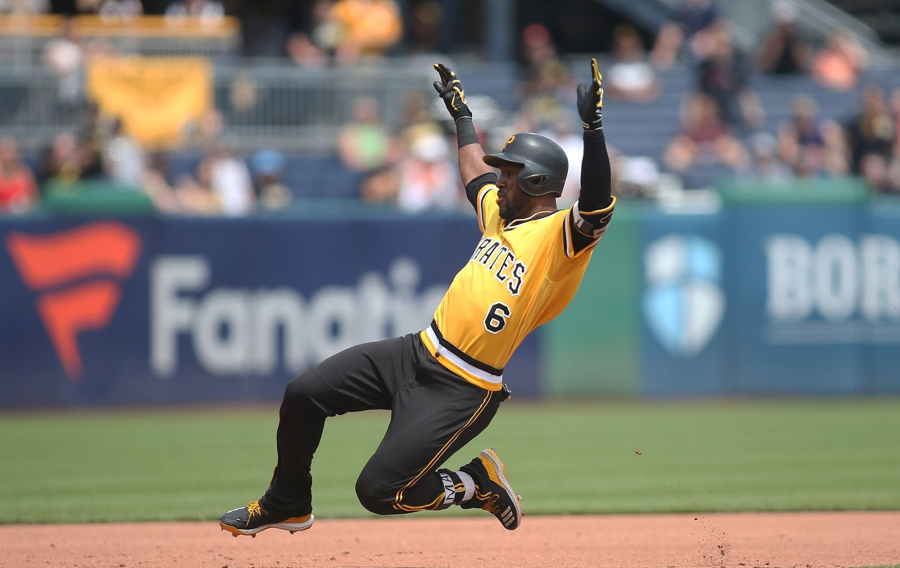 Nothing beats seeing the Pirates player sliding into the