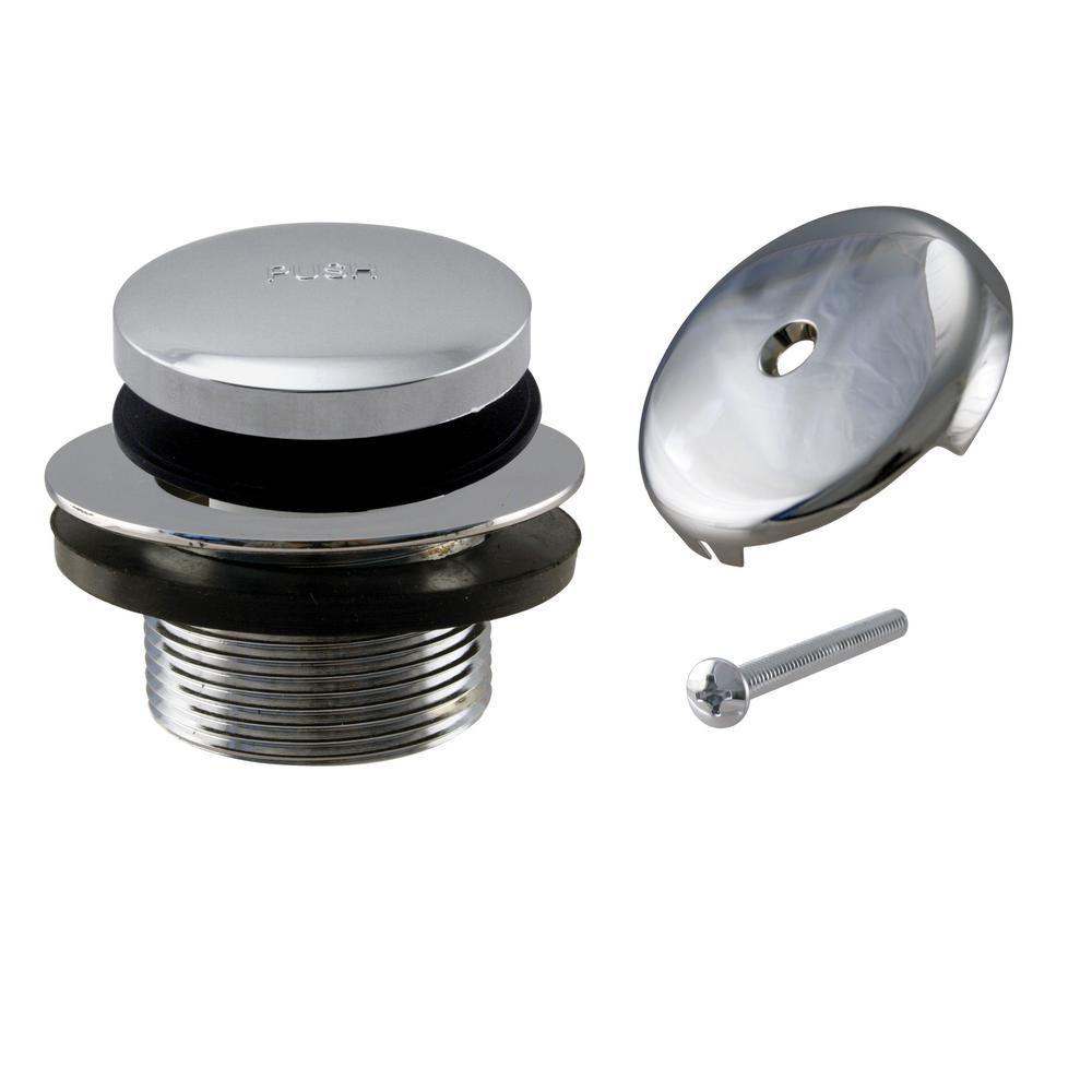 Westbrass 1 1 2 In Npsm Coarse Thread Tip Toe Bathtub Drain Plug