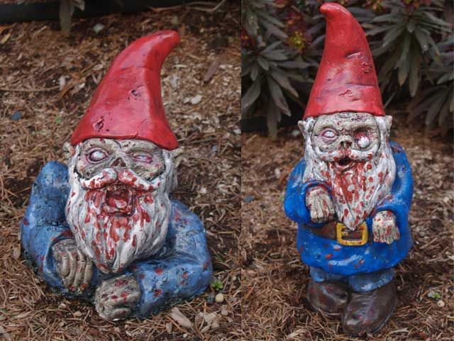 Gnombies Garden: Zombis, Bichos Raros, Halloween