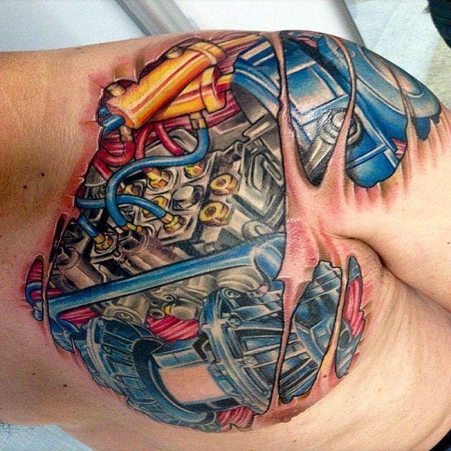 150 Creative Biomechanical Tattoos (Ultimate Guide, August