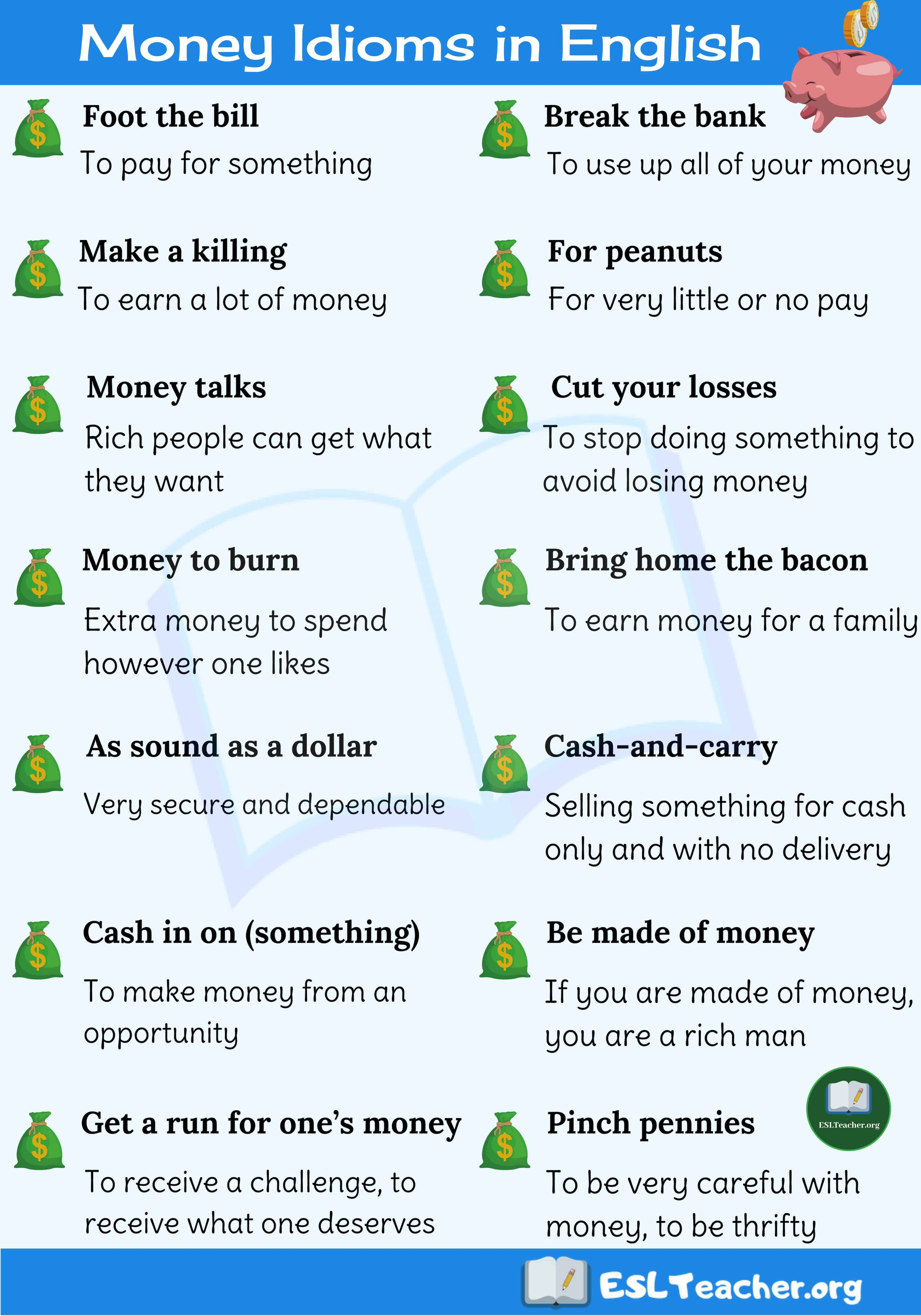 Pin By At Home With Lauren B Montana On My Saves In 2021 Idioms And Phrases English Idioms Idioms
