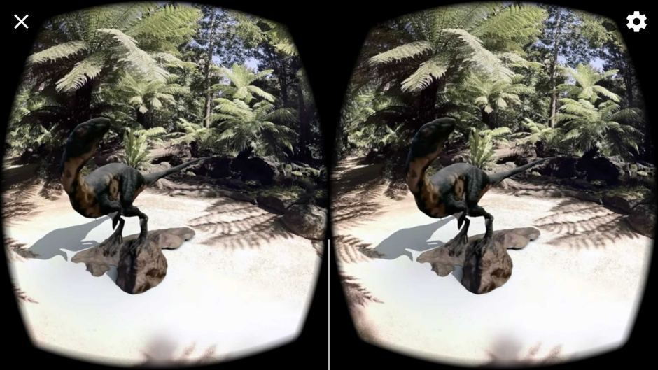 Virtual dinosaur digging: Using technology of the future to visit the past