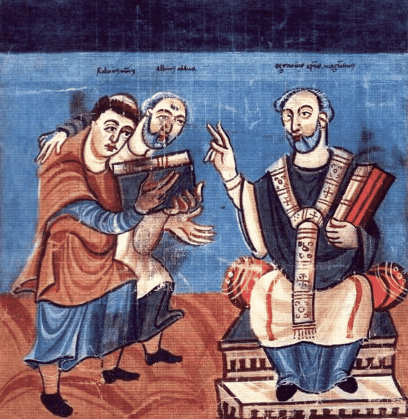 アルクイン - 世界の歴史まっぷ イギリスの神学者。フランク王国の ...
