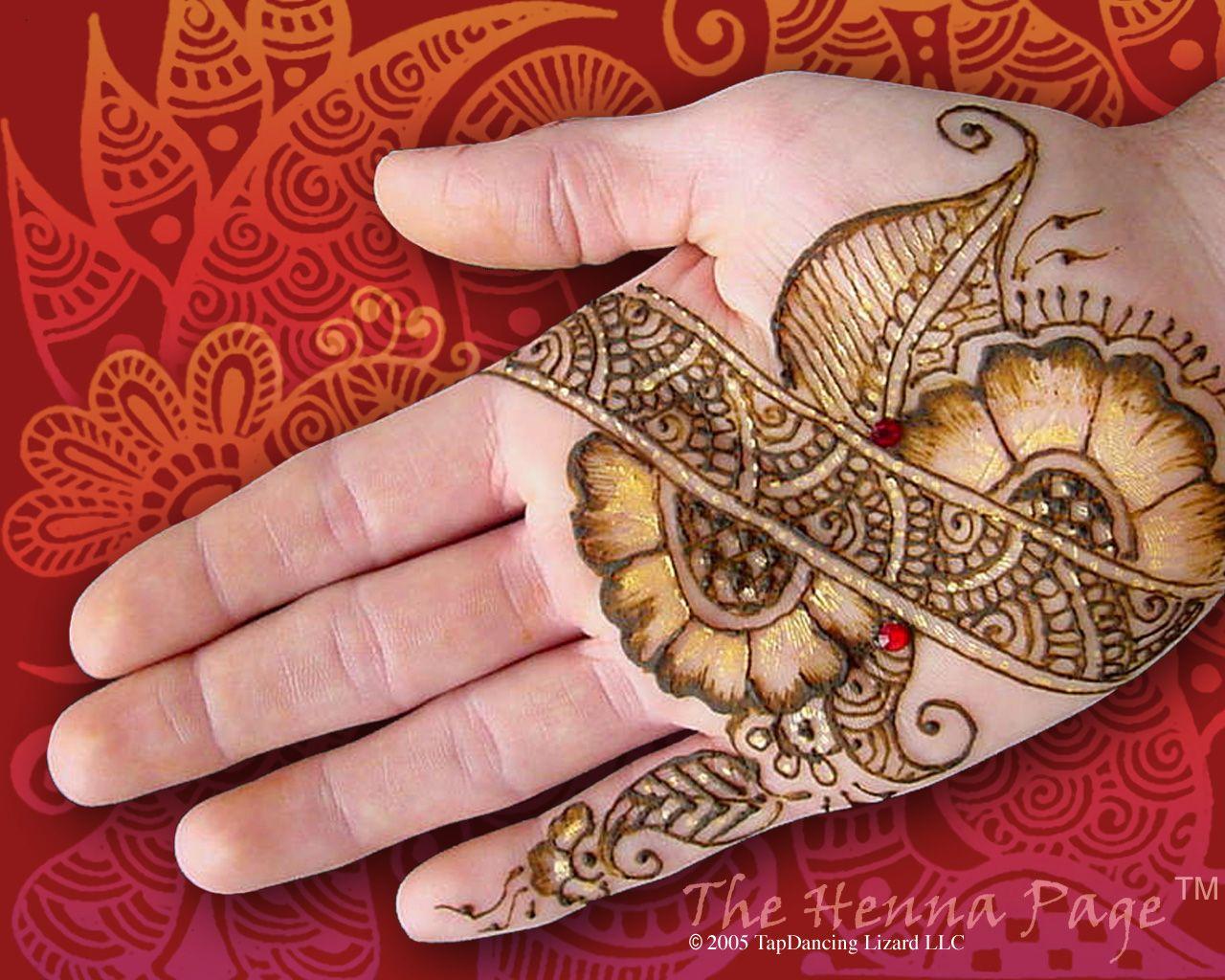 Flower Wali Mehndi : Unique flower designs most impressive eid mehndi
