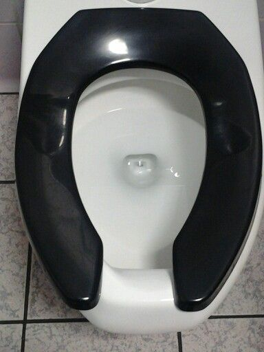 An Old Black Horseshoe Toilet Seat Fun Things To Do Toilet Seat Fun