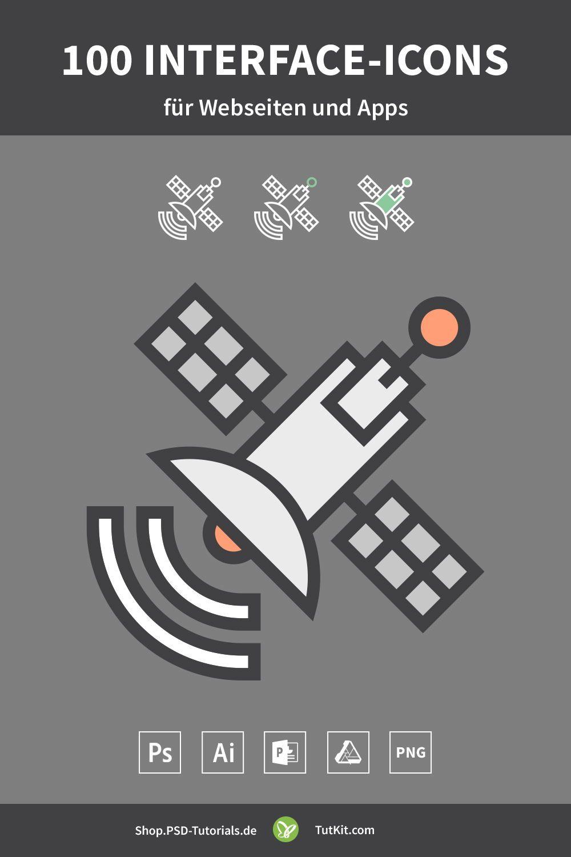 100 interface icons fur webseiten und apps download webseite photoshop vektorgrafik erstellen rose ballon vektor