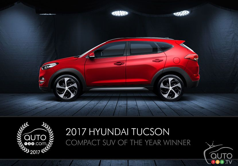 2017 Hyundai Tucson, Compact SUV of the Year