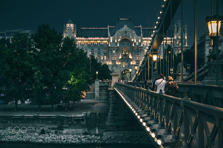 Gresham Palace Budapest - Pinned by Mak KhalafPaul's Shots | Instagram City and Architecture architecturebridgebudapestbuildingcitygrand hotelhotelhungarylongexposurenightphotographyoutdoorsstreetstructuretownurban by paulgphotos