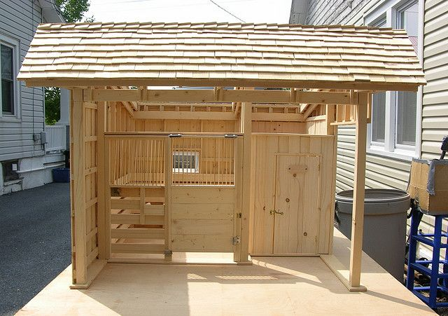 Stable 2 Front Miniature Furnishings Accesories