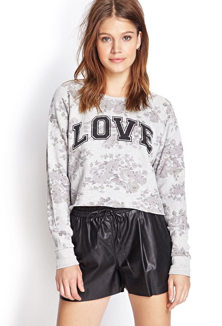 Floral Love Sweatshirt #Sweater #Graphic