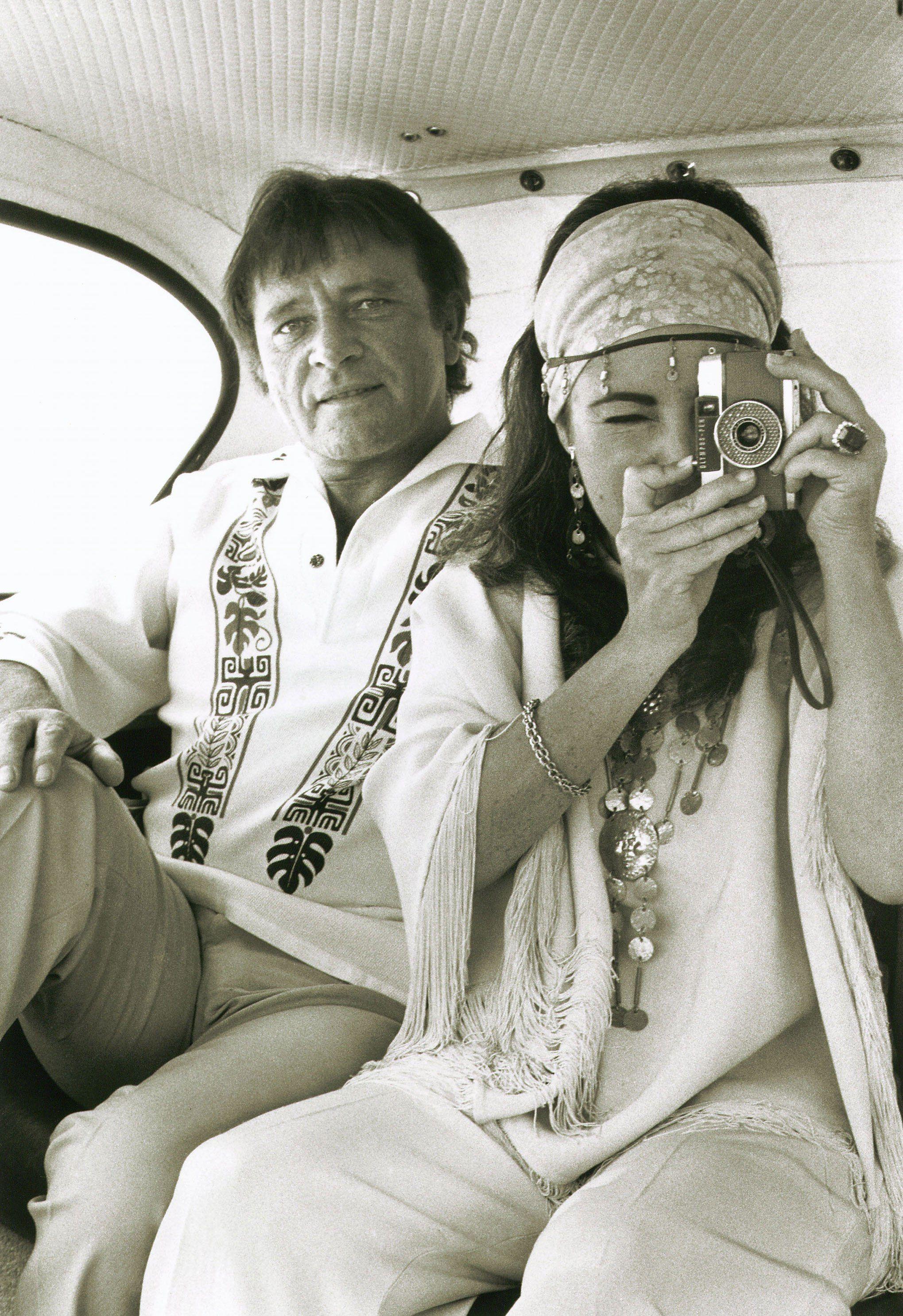 Elizabeth Taylor photographed by Gianni Bozzacchi , 1972 ...